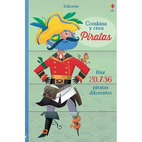 Piratas. Combina y crea