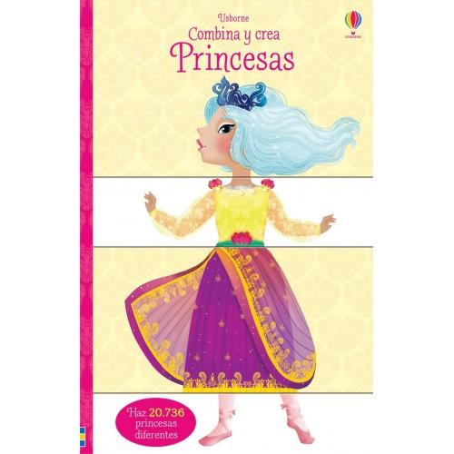 Princesas. Combina y crea