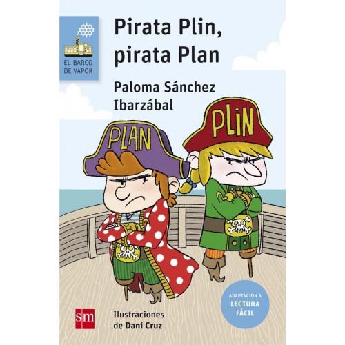 Pirata Plin, Pirata Plan. Lectura fácil