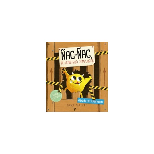 Ñac Ñac El monstruo come libros
