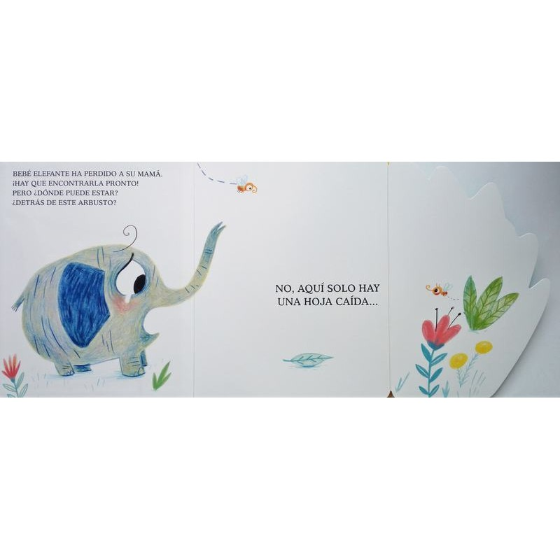 Dónde está mamá elefante