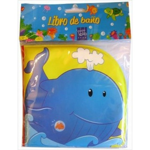 Libro de baño ballena