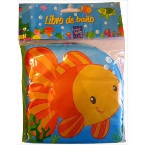 Libro de baño pez