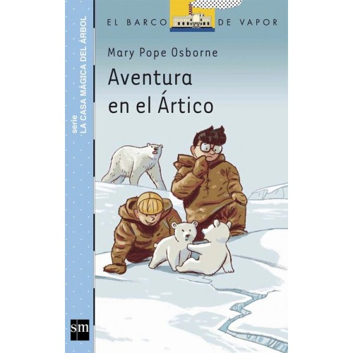 Aventura en el ártico (barco de vapor serie azul)