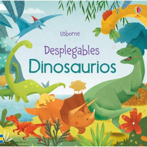 Dinosaurios. Desplegables