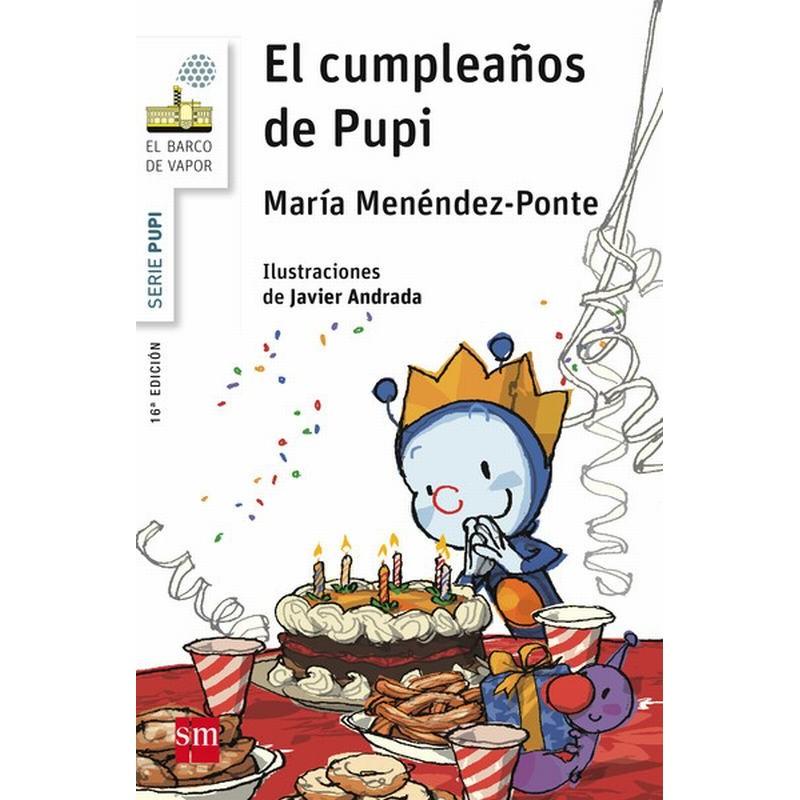 El cumpleaños de Pupi (barco de vapor serie blanca)