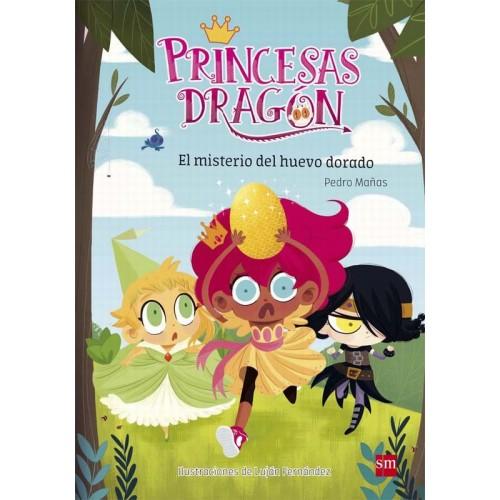 Princesas Dragón. El misterio del huevo dorado