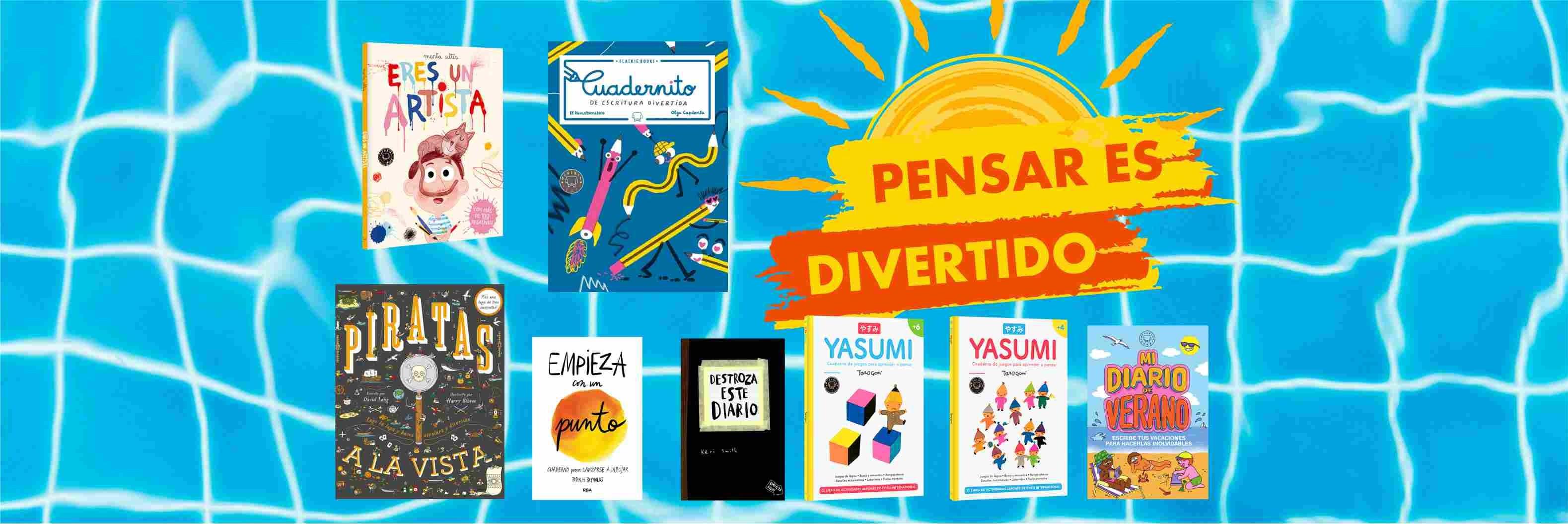 libros de actividades para verano